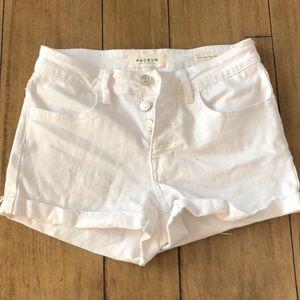 PAC Sun white shorts